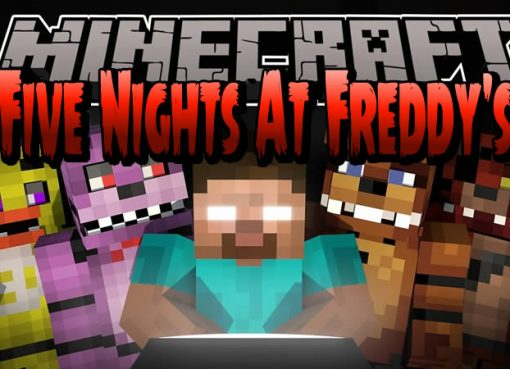 Five Nights At Freddy's Map for Minecraft