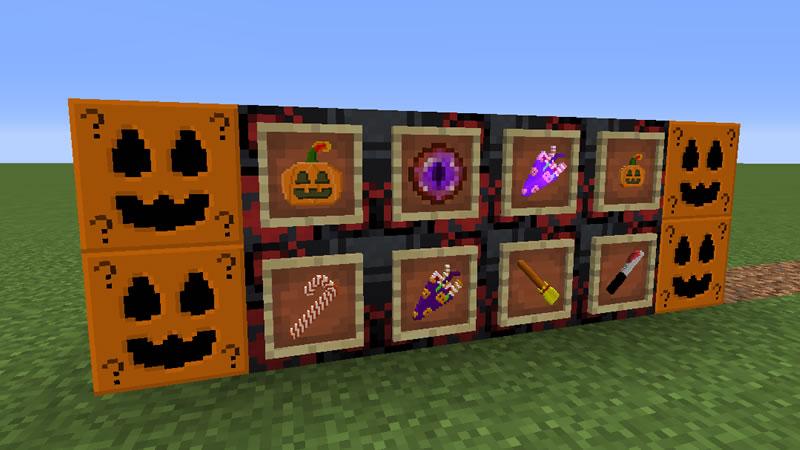 Halloween LuckyBlocks Mod Screenshot