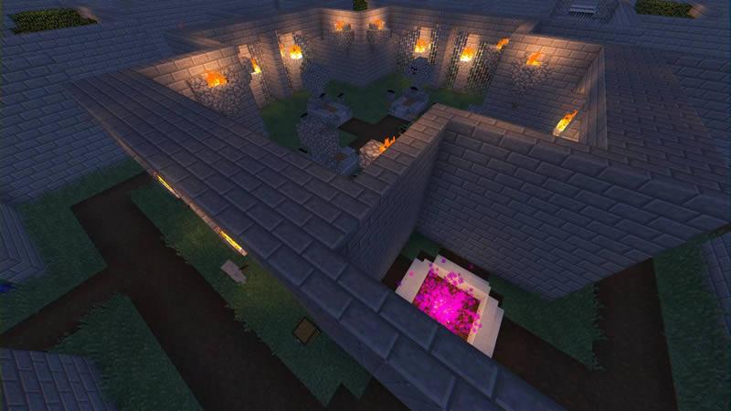 Halloween Maze Map Screenshot 3