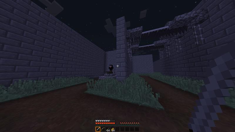 Halloween Maze Map Screenshot