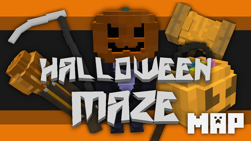 Halloween Maze Map for Minecraft