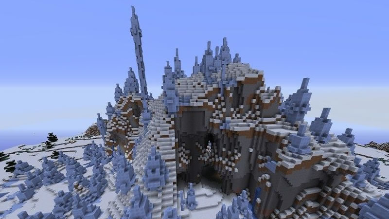 Ice Spikes Biome Seed for Minecraft