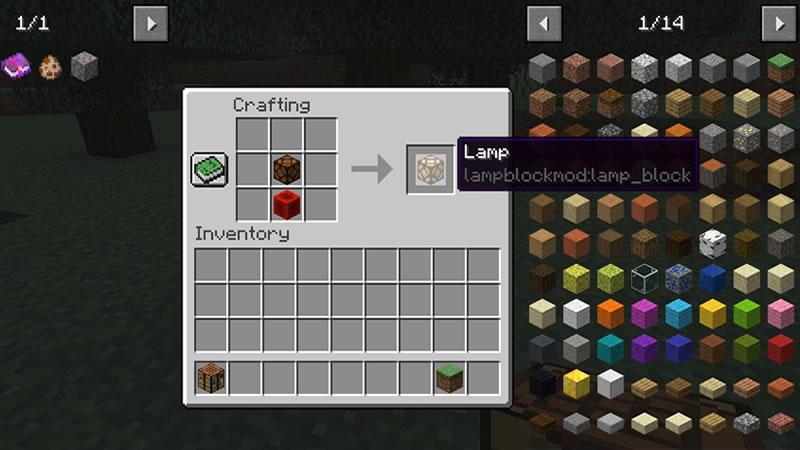 Lamp Block Mod Screenshot 2