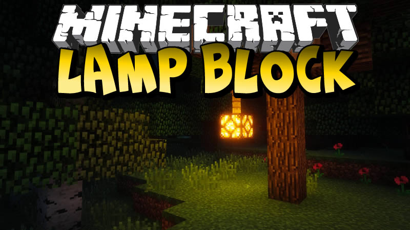 Lamp Block Mod for Minecraft
