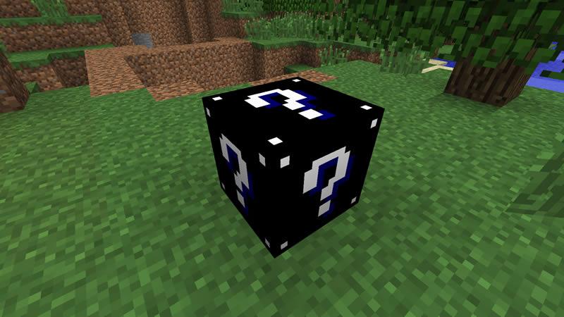 Lucky Block Black Mod Screenshot