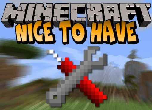 Nice To Have Mod for Minecraft