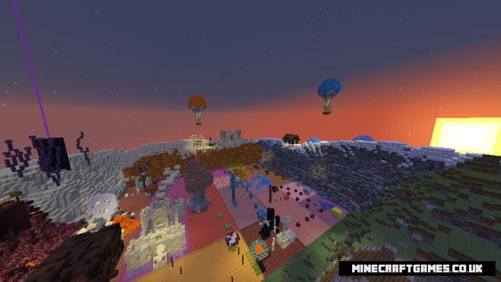 Parkour Valley Map Screenshot 3