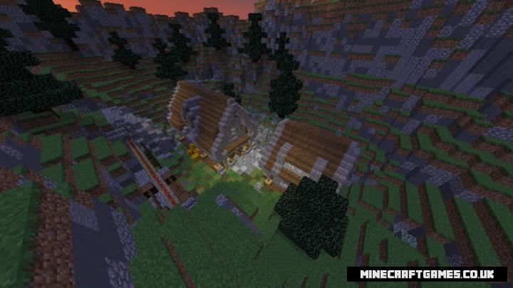 Parkour Valley Map Screenshot
