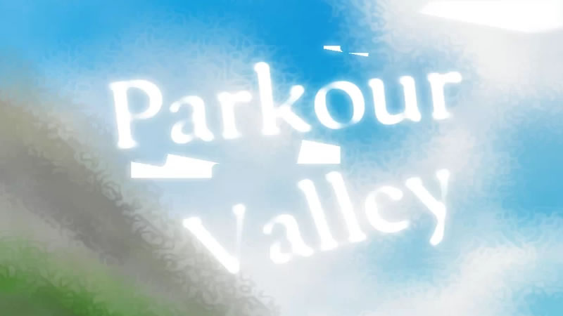 Parkour Valley Map for Minecraft