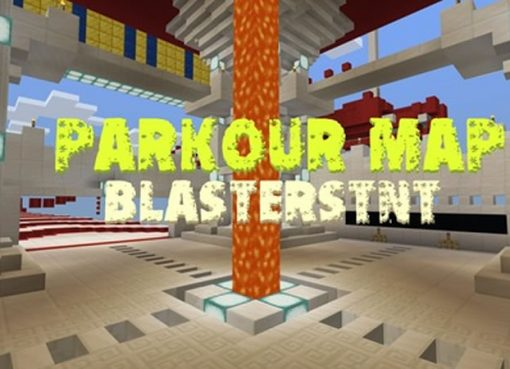 Parkour map by BlastersTNT for Minecraft
