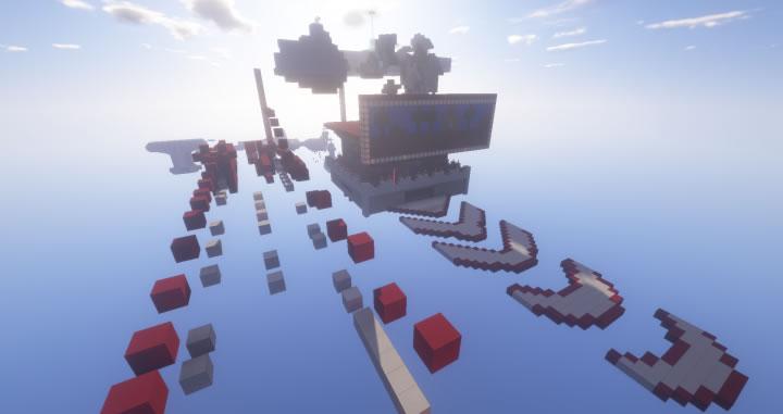 Parkour map by BlastersTNT Screenshot 2