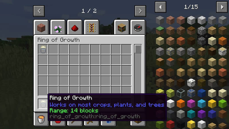 Ring of Growth Mod Screenshot