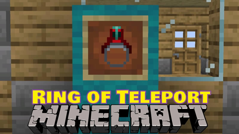 Ring of Teleport Mod for Minecraft
