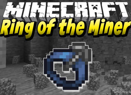 Ring of the Miner Mod for Minecraft