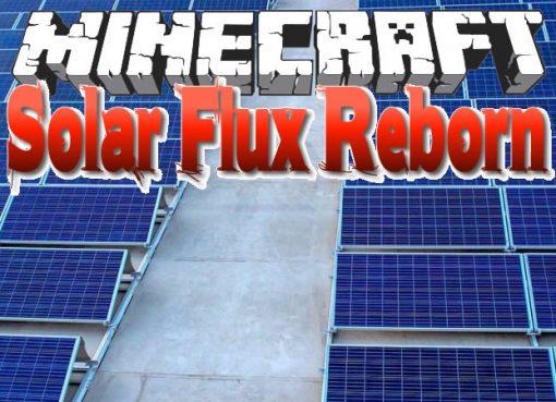 Solar Flux Reborn Mod for Minecraft