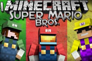 Super Mario Bros. Map for Minecraft