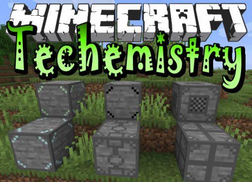 Techemistry Mod for Minecraft