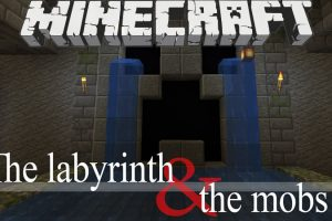 The Labyrinth and the Mobs Map for Minecraft