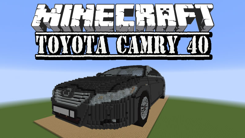 Toyota Camry 40 Map for Minecraft