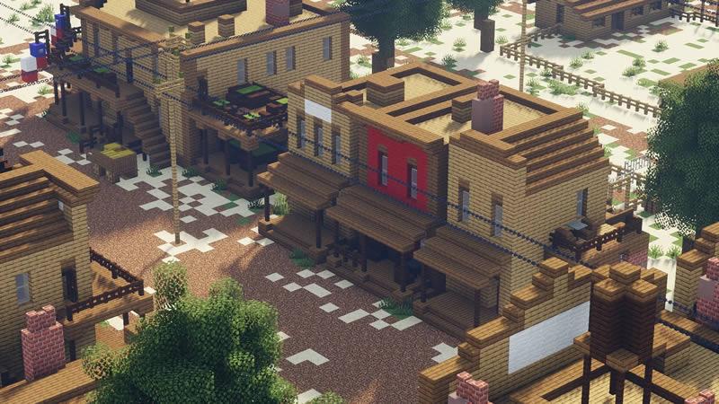 Wild West Railroad Town Map Screenshot 2