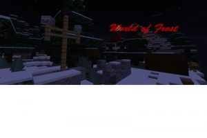 World of Frost Map for Minecraft