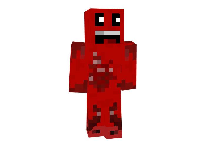 sanen (Angry mob) Minecraft Halloween Skins