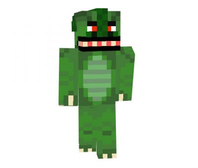 scaly - Minecraft Halloween Skins