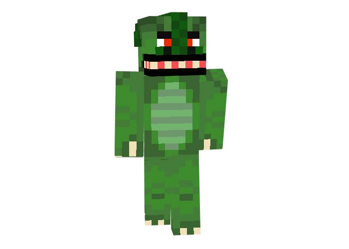 scaly - Minecraft Halloween Skins