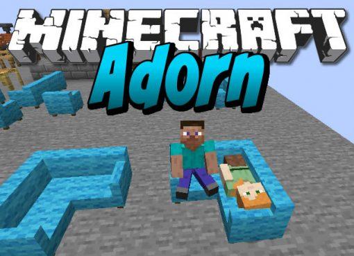 Adorn Mod for Minecraft