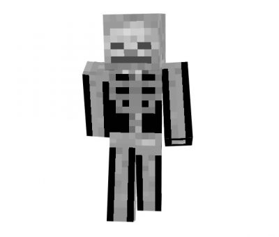 Alebibo29 (Skeleton) Skin for Minecraft