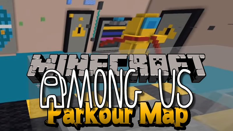 Among Us Parkour Map for Minecraft