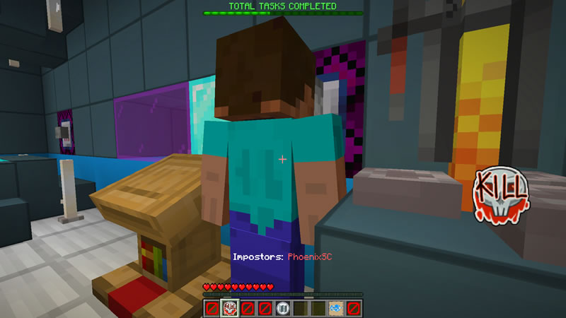 Among Us in Minecraft Map Screenshot 3
