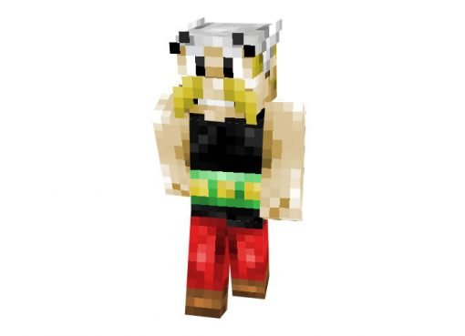 Asterix Skin for Minecraft (Asterix and Obelix)