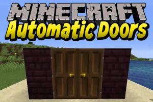 Automatic Doors Mod for Minecraft