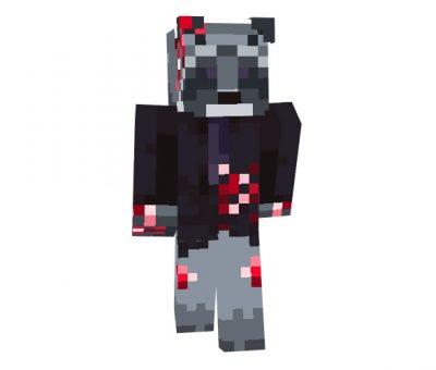 Bleed - Minecraft Halloween Skin