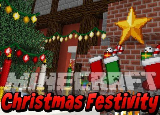 Christmas Festivity Mod for Minecraft