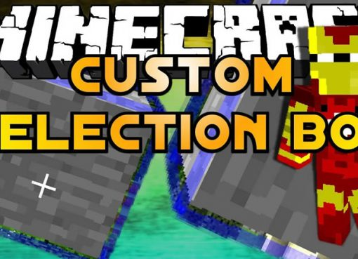 Custom Selection Box Mod for Minecraft