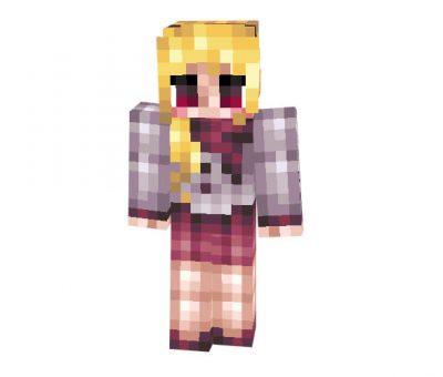Detailed Winter Girl Minecraft Skin