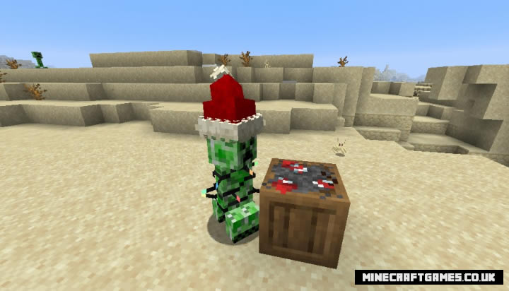 Festive Creepers Mod Screenshot