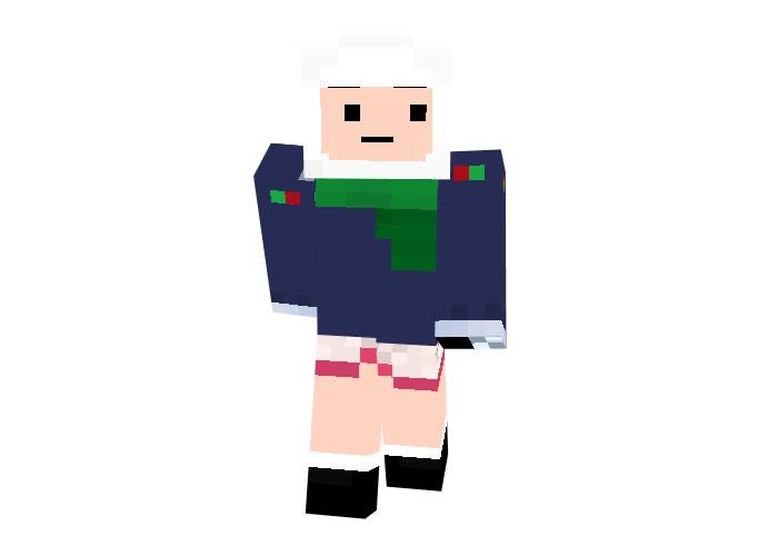 FinnTheHuman Skin - Minecraft Christmas