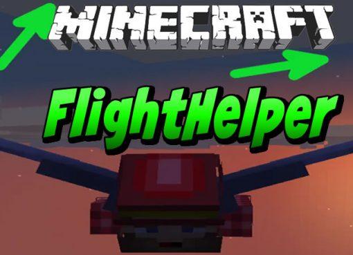 FlightHelper Mod for Minecraft