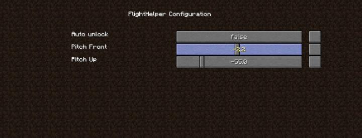 FlightHelper Mod Screenshot