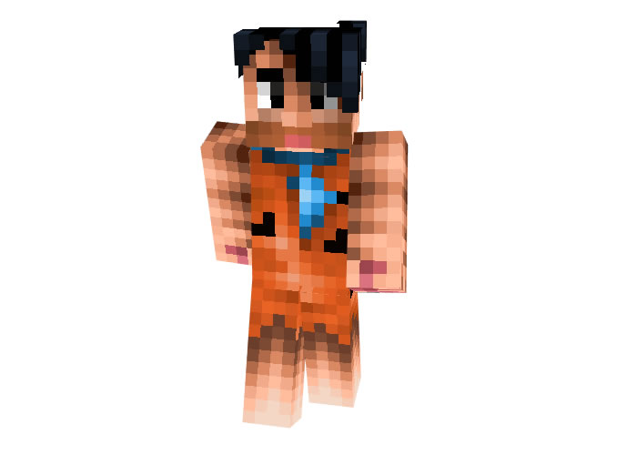 Fred Flintstone Skin for Minecraft
