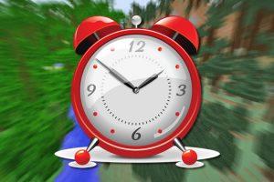 GUI Clock Mod for Minecraft