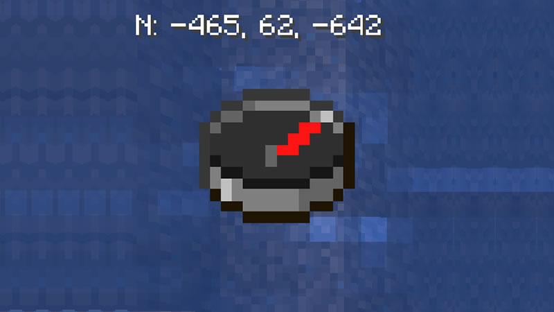GUI Compass Mod for Minecraft