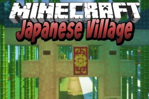 Japanese Village Map for Minecraft
