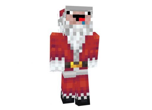 Jjohn21 (Funny Santa Claus) Skin for Minecraft