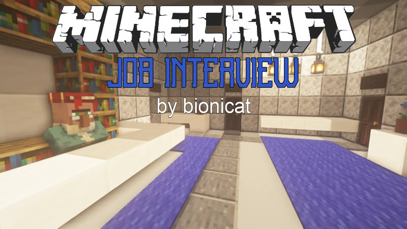 Job Interview Map for Minecraft