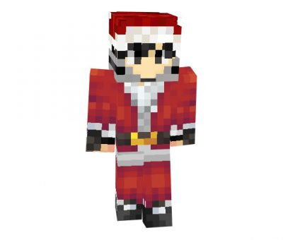 MRHunterBright Christmas Skin for Minecraft Game