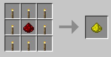 Mo Glowstone Mod Crafting Glowstone Dust Recipe